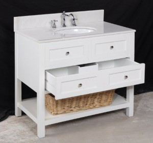 new yorker white 36 inch bathroom vanity - White Bathroom Vanity 36