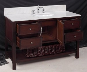 "48"" bathroom vanity inside"