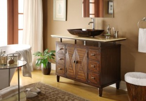48inch single sink bathroom vanity