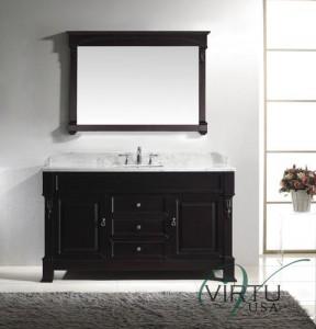 60 inch single sink bathroom vanity